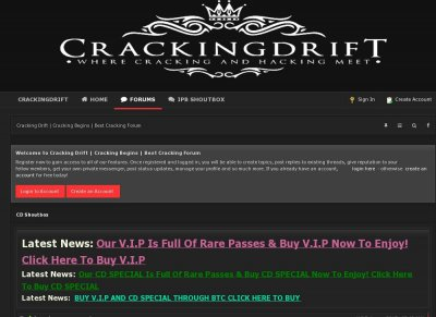 Cracking Drift | Cracking Begins | Best Cracking Forum